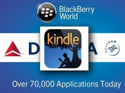 Kindle - Blackberry App