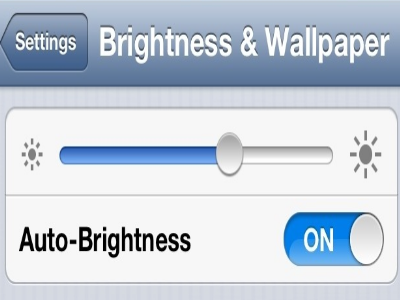iphone 5s brightness