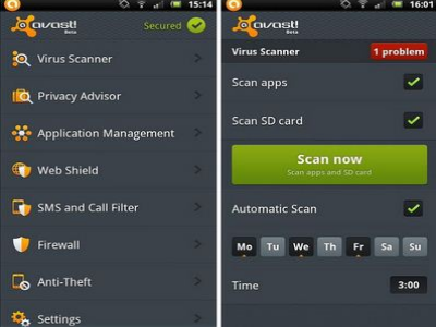 Avast Antivirus - Android Security Apps