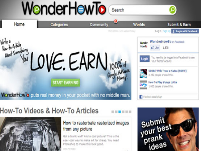 WonderHowTo - Interesting Websites