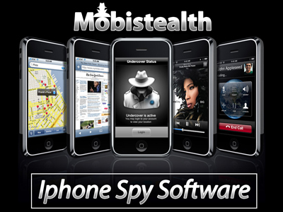 Mobistealth iPhone Spy Software